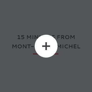 Hôtel dans la baie du Mont Saint Michel
