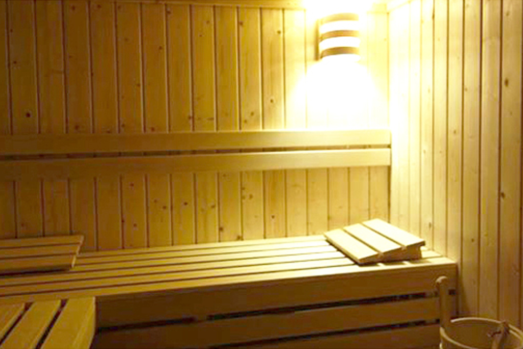 Sauna, Altos Hotel & Spa, Avranches