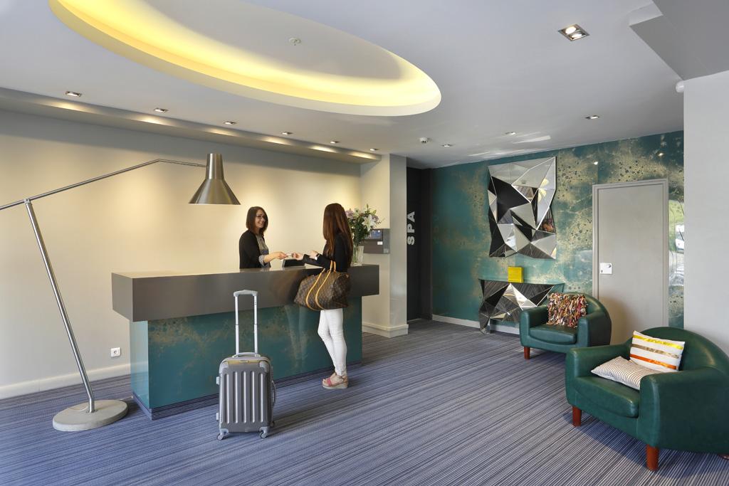 Réception, Altos Hotel & Spa, Avranches