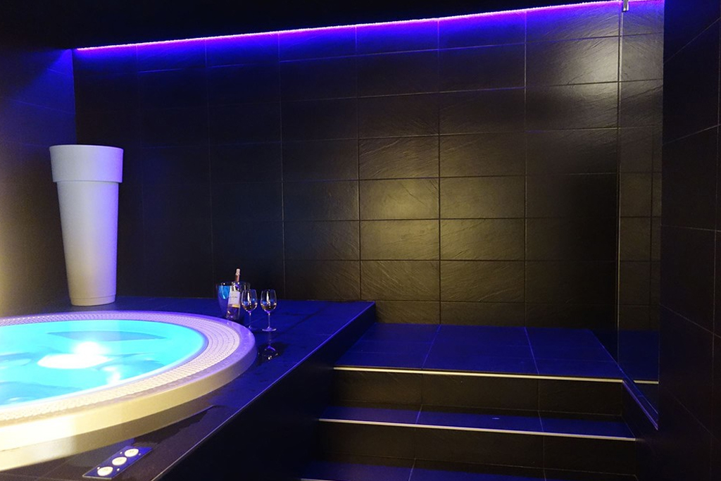 Jacuzzi, Altos Hotel & Spa, Avranches
